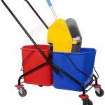 Double Mop Bucket Trolley 60 Ltr 60678