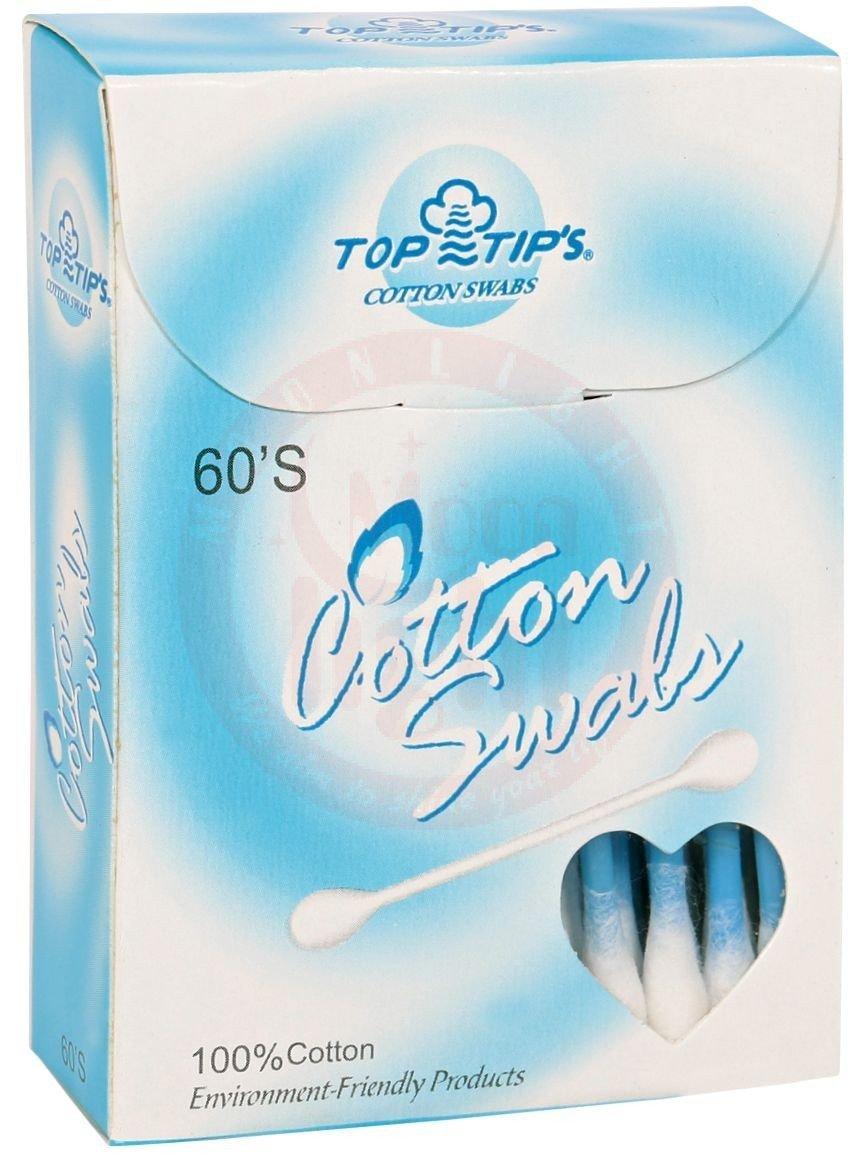 Cotton Buds 60 Pcs (1x12) 65060