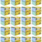 Cleaning Sponge With Scrubber 20 Pcs ( 2 Pcs Set) 70733