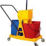 Double Mop Bucket Trolley 46 Ltr 71004