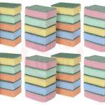Cleaning Sponge With Scrubber 60 Pcs ( 10 Pcs Set) 80924