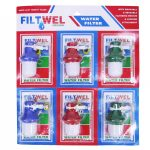 Water Filter Fitwell (1x 6pcs) 70779